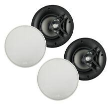 "Polk Audio V60 6.5"" 2-Way Vanishing In-Ceiling Speaker (Bezel-less, 2 Pairs)"