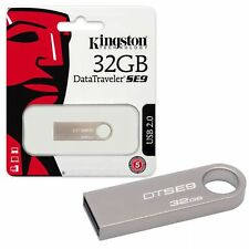 NEW 32GB Kingston Data Traveler SE9 USB 2.0 Flash Drive USB 2 Memory Stick