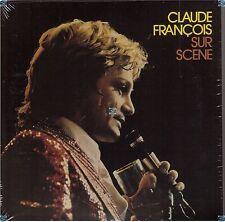 CLAUDE FRANCOIS CD SUR SCENE BRUXELLES vinyle replica NEUF