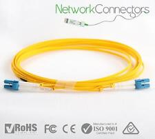 LC - LC SM Duplex Fibre Optic Cable (90M)