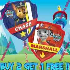 "25 Pack Paw Patrol 18"" Nickelodeon Mylar Balloon Red Chase & Marshall Balloons"