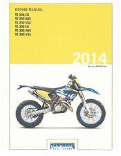 Husaberg service manual 2014 TE 250 EU, AUS, USA & TE 300  EU, AUS, USA