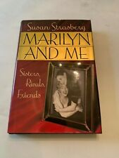 1992 Marilyn And Me by Susan Strasberg Hardcover With Dust Jacket