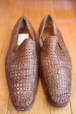 MENS Cole Haan  Basket Weave Leather / Fashion Designer Shoes size 12M (MEN700
