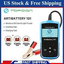 12V Car Battery Tester Analyzer Automotive Charging Cranking Tool CCA 100~2000
