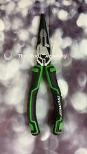Sealey PREMIER RANGE HI VIS GREEN Long Nose Pliers High Leverage 200mm