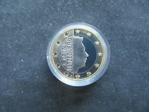 1 Euro BE Luxembourg 2017
