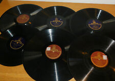 LOT 6 DISQUE ODEON gramophone DAJOS BELA paganini TAUBER bodanzky RETHBERG bizet