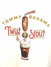 NEW MENS TR214812 TOMMY BAHAMA RELAX Twist & Stout Beer Bar Drinking T-SHIRT M