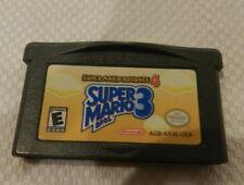 Super Mario Advance 4: Super Mario Bros. 3 Nintendo Game Boy Advance GBA Cart