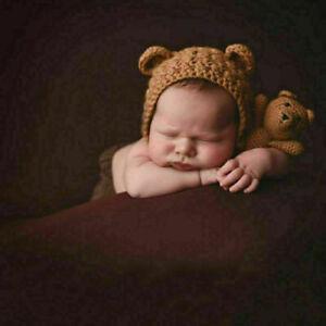 Fotoshooting Kinderfoto Kostüm Neugeborenen Newborn Fotografie Baby Strick Mütze