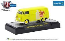 1:64 M2 Machines *VOLKSWAGEN OWNER'S VIEWPOINT* 1960 VW Delivery Van Yellow NIB!