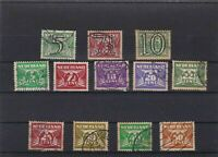 NETHERLANDS MOUNTED MINT & OR  USED STAMPS ON  STOCK CARD  REF R819