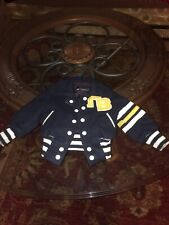 Vintage Michel Bachoz Baby 18 Month Baseball Jacket Made In France