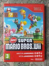 New Super Mario Bros Wii Pal España