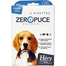 Pipette chien moyen 10 à 25 Kg Zéro Puce Répulsif Héry, antiparasitaire