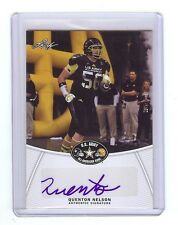 QUENTON NELSON - Notre Dame - 2014 Leaf Army Certified AUTOGRAPH RC