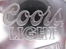 5-OZ. 999 PURE SILVER RARE COORS LIGHT SILVER BULLET SUNSHINE MINT ART BAR +GOLD