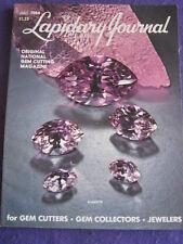 LAPIDARY JOURNAL - KUNZITE - July 1984 v 38 # 4