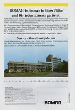 Prospekt Bomag Großmaschinen 2/02 2002 Broschüre Baumaschinen brochure broschyr