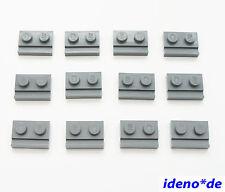 LEGO STAR WARS 12 unid.placa 1 x 2 con vías NUEVO GRIS OSCURO 32028 4543086