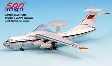 Aeroflot Mainstay CCCP-76456 IL-76 Airplane Miniature Model Metal Die-Cast 1:500