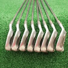 PING ZING KARSTEN RED DOT COMPLETE 3-W RH IRON SET W/STEEL KT-M (STIFF) SHAFTS