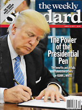 The Weekly Standard magazine Donald Trump Executive orders Truth about Sweden