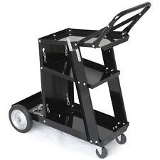 Welder Cart/Trolley Plasma Cutter MIG TIG ARC Universal Storage for Tanks Handle