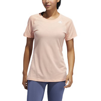 adidas Performance Damen Sport Fitness T-Shirt PRIME SHORT-SLEEVE TEE pink