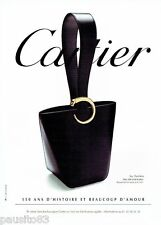 PUBLICITE ADVERTISING 126  2006  Cartier  le sac à main  Panthère