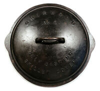 OLD VINTAGE GRISWOLD NO 9 CAST IRON SELF BASTING SKILLET COVER LID ONLY FOR PAN