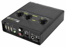 Novation AUDIOHUB 2x4 Audio interface+USB Hub For Electronic Music Production