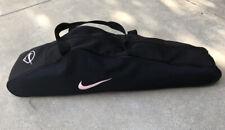 Nike Pink Swoosh Baseball Softball Bat Equipment Carrying Bag Black