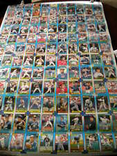 1990 Topps UNCUT Baseball Sheets - Set of 6 Different Boards