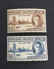 Pitcairn Island Victory 1946 MH