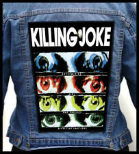 KILLING JOKE - Extremities, Dirt and Various Rep  --- Giant Backpatch Back Patch