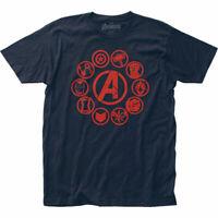 Avengers Endgame Movie Icons Marvel Officially Licensed Adult T-Shirt