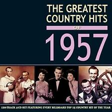 The Greatest Country Hits Of 1957 - 4 CD Set (Johnny Cash, Elvis, etc.)