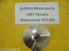 97 98 YAMAHA GP1200 WAVERUNNER XL? 1997 GP1200R STAINLESS STEEL PROP IMPELLER