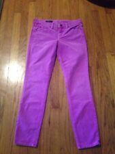 NWT Womens J. Crew Toothpick Ankle SuperSkinny Corduroy Jeans Size 27