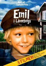 DVD 3 Filme Michel Emil i Lönneberga SCHWEDISCH Astrid Lindgren