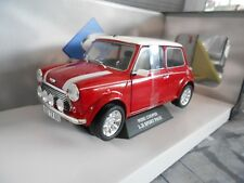 Austin BL MINI COOPER S 1.3 i Injection ROSSO RED SPORT PACK NUOVO SP solido 1:18