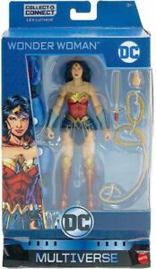 DC Multiverse Lex Luthor Series Wonder Woman Action Figure [Rebirth]