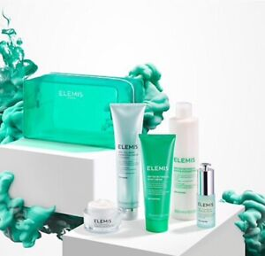 ELEMIS ENERGISE AND RENEW 5 PIECE BRITISH BOTANICALS COLLECTION GIFT SET BNIB