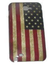 CUSTODIA COVER PER GALAXY NOTE N7000 RETRO VINTAGE FLAG BANDIERA USA  CASE  bump
