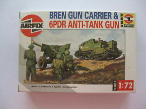1|72 Model BREN GUN CARRIER & 6PDR ANTI-TANK GUN Airfix D10-2871