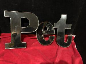 Vintage 1960s plexiglass  PET Store Signage Letters Salvage Typeface