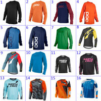 Resistance Cycling Jersey Long Sleeve Downhill Shirt motocross bike clothing