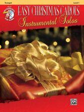 Easy Christmas Carols Instrumental Solos - Trumpet Book/CD 38760